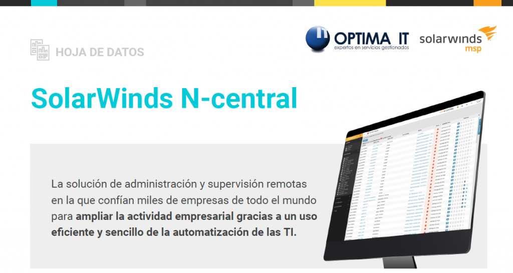 SolarWinds MSP N Central - Optima IT